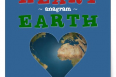 Heart-Earth-anagram