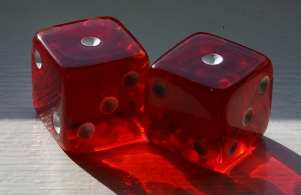 Snakes Eyes Dice